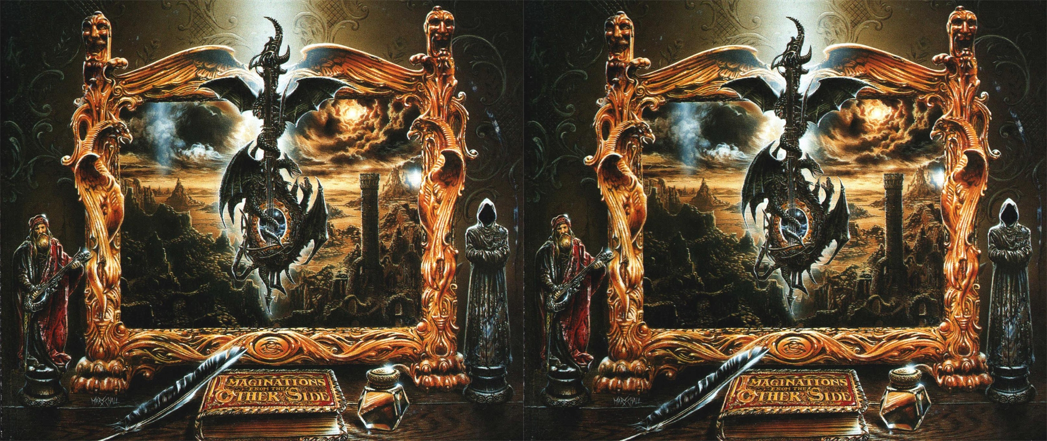 Blind Guardian - Imaginations from the other Side - Side By Side JPS Format