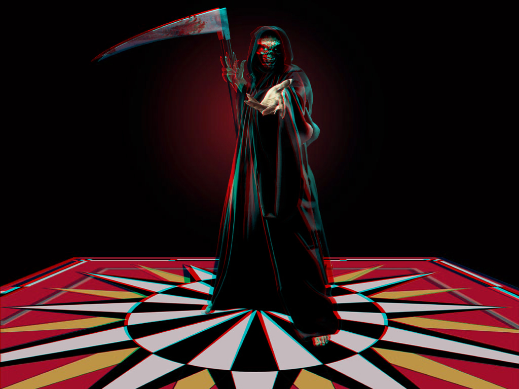 Anaglyphe Iron Maiden Dance Of Death in 3D